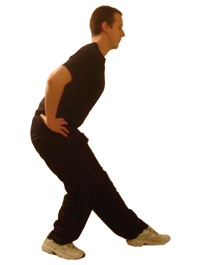 Extended Rear Facing >> Standing Hamstring Stretch - Fitness-Central